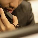 匿名の電話相談