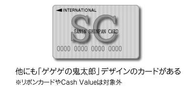 山陰信販のクレジットカードはこんな感じ